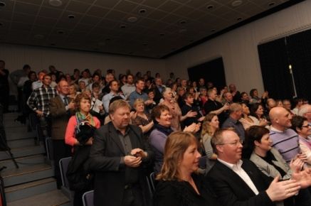 Publikum (Foto: Svein-Ivar Pedersen, Sande Avis)