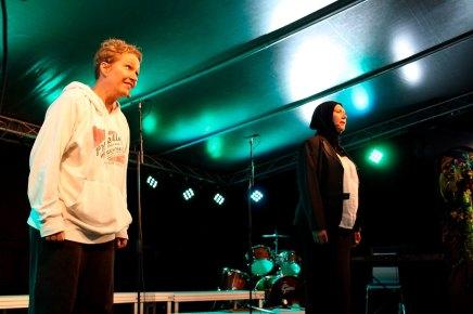 "2013 ""Åpne ditt sinn"" Langesund revyfestival (Foto: Langesund Damekor)"