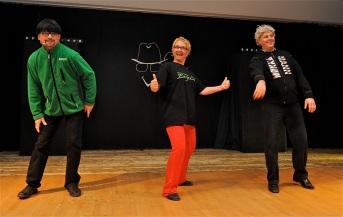 Entreprenørene kommer (Foto: Svein-Ivar Pedersen, Sande Avis)
